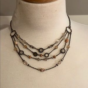 Layered Bead Necklace (Vintage)